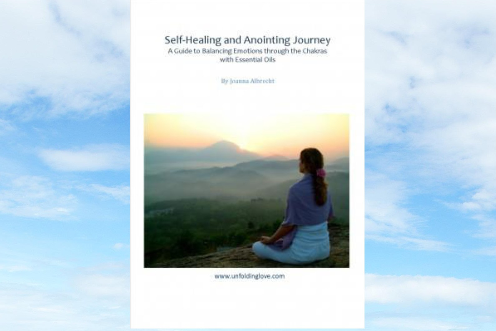 self healing and anointing cover